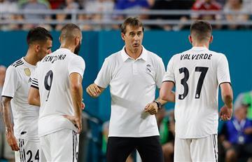 Las siete claves del nuevo Real Madrid de Julen Lopetegui