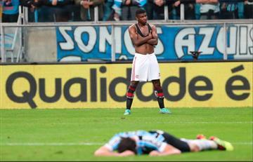 Flamengo rescató valioso empate ante Gremio en la Copa Brasil