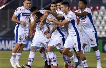 Nacional sueña con el pase al ganar a Botafogo en la Copa Sudamericana