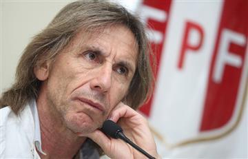 Ricardo Gareca y su pedido a Edwin Oviedo para renovar con Perú