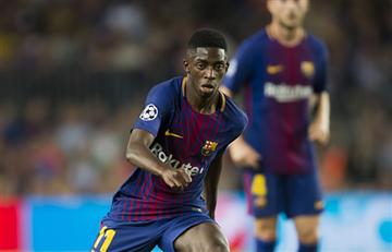 Ousmane Dembélé aseguró que se qudará en el Barcelona: