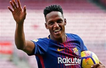 Barcelona traspasó a Yerry Mina al Everton por increíble cantidad de dinero
