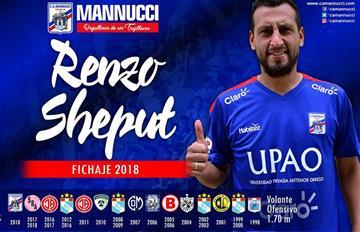 """Renzo Sheput: """"Espero repetir con Manucci el ascenso que viví con Boys"""""""
