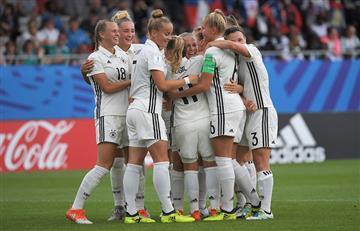 Alemania se quedó con el liderato de su grupo al vencer con las justas a Haití