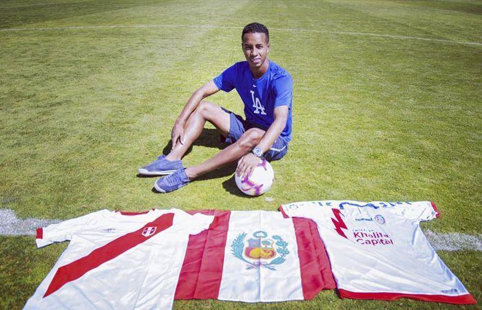 Jeisson Martínez y su sueño de vestir la camiseta de la Selección Peruana. Foto: Facebook
