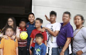 Raúl Ruidíaz mostró su apoyo a víctimas de secuestro en México