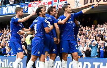 Chelsea pintó de azul Londres ante un bajo Arsenal en la Premier League