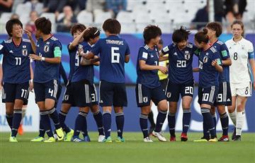 Japón sorprendió y eliminó a Alemania por los cuartos del Mundial Femenino Sub20