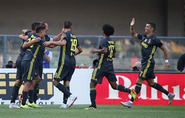 Juventus y Cristiano iniciaron la Serie A con triunfo