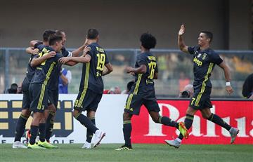 Juventus inicia la Serie A con victoria sobre Chievo Verona