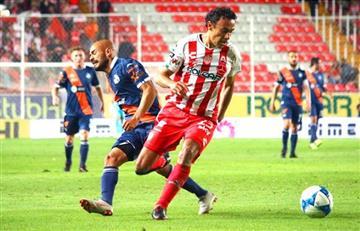 Puebla con Anderson Santamaria, sacó un empate ante el Necaxa