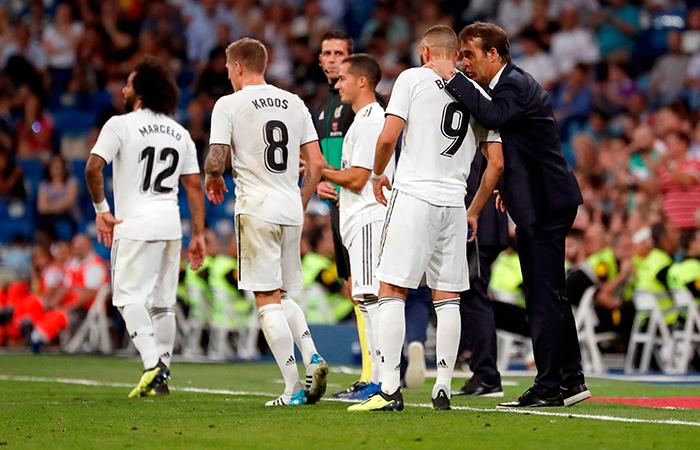 Real Madrid derrotó 2-0 al Getafe por LaLiga