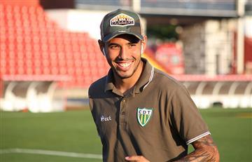 Sergio Peña fue felicitado por Tondela
