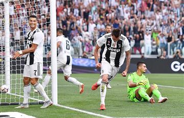 Juventus ganó con Cristiano Ronaldo en cancha