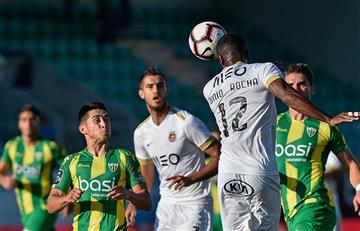 Sergio Peña anotó golazo en el empate del Tondela sobre el Rio Ave