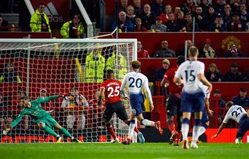 Manchester United fue goleado en Old Trafford por el Tottenham