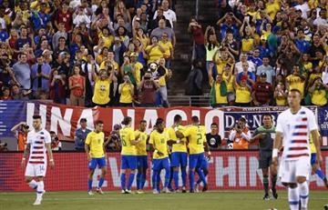 Brasil venció a Estados Unidos