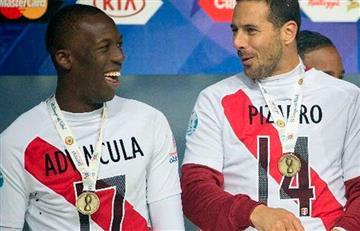 Pizarro bromeó con Advíncula tras su gol ante Alemania