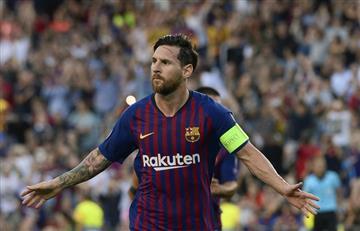 ¡Hat trick de Messi para victoria del Barcelona!