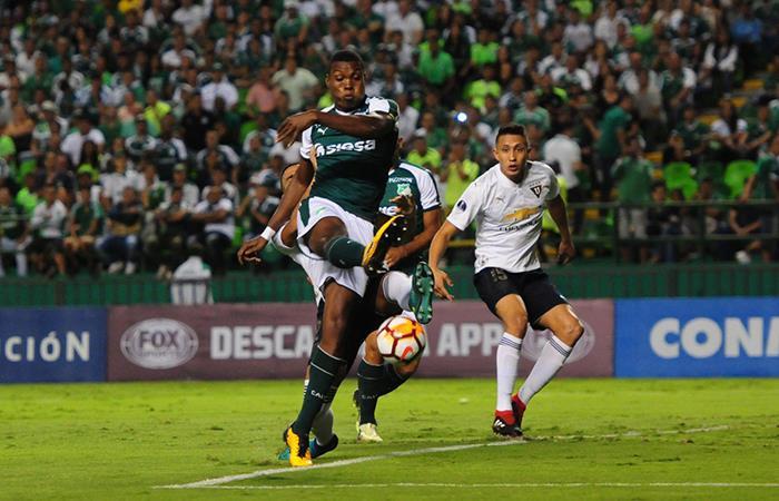 Cali venció por la tanda de penales 3-1 a LDU. Foto: Twitter