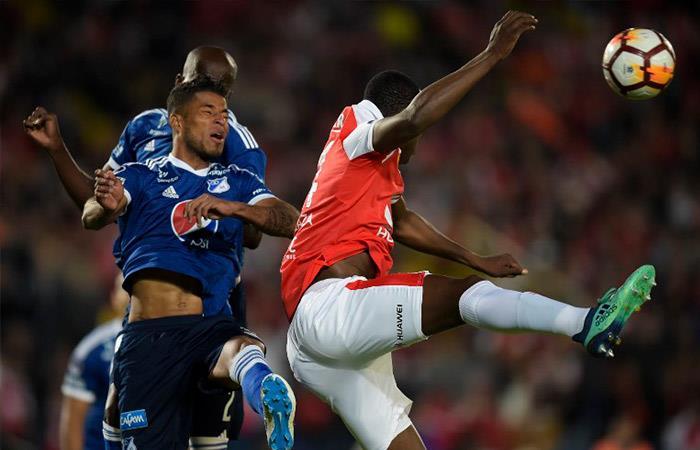 Independiente vs Millonarios (Foto: AFP)