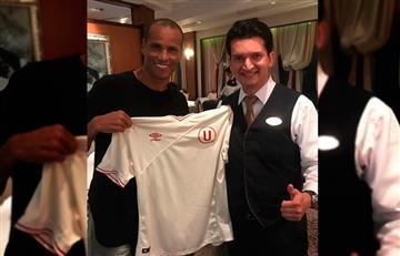 Rivaldo se muestra con camiseta de Universitario en Instagram