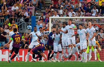 ¡Golazo! Messi y su calidad en el tiro libre