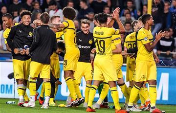 Borussia Dortmund derrotó al Brujas en Champions