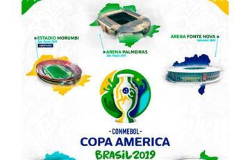 Conoce las cinco sedes de la Copa América Brasil 2019