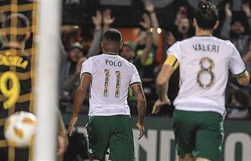Andy Polo, anotó y asistió en la victoria del Portland Timbers
