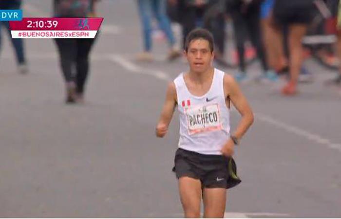 El maratonista dejó muy en alto a Perú. Foto: Facebook