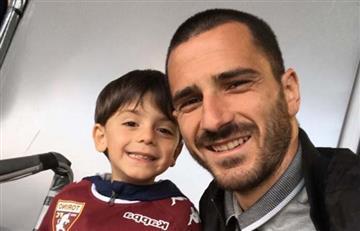 Hijo de Bonucci hincha de Torino