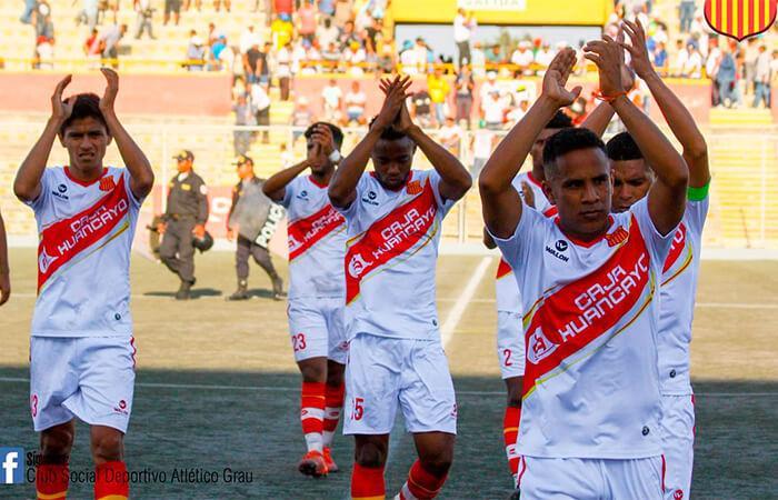 Atlético Grau fue dado como ganador ante Hualgayoc por la FPF (Foto: Facebook @CAG.Sitio.Oficial)