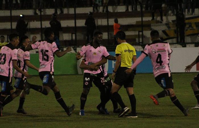 Jhonnier Montaño marcó el tanto de la victoria para Sport Boys (Foto: Facebook Sport Boys)