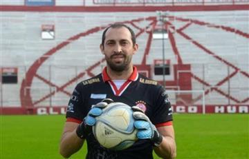 Portero argentino apoya al Sportivo Huracán