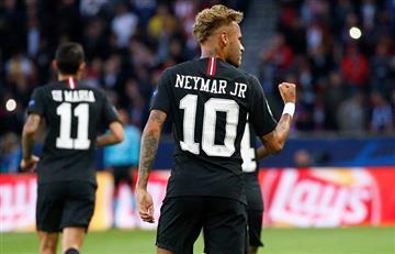 Neymar y su nuevo récord en la Champions League