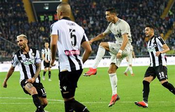 Ronaldo convirtió en el triunfo de la Juventus