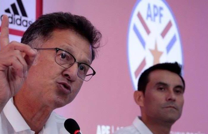Selección de Paraguay, se prepara para concentrar a partir de este lunes. Foto: Facebook
