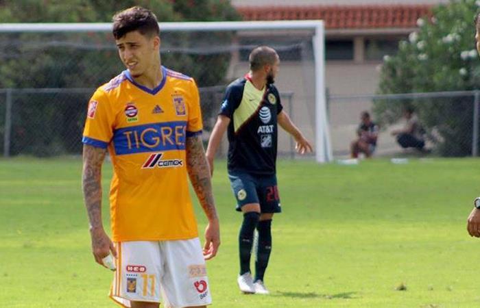 Beto da Silva marcó su primer gol con camiseta de Tigres Sub-20