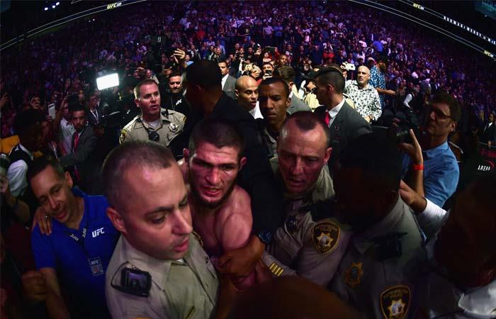 UFC 299: McGregor vs Khabib terminó en una batalla campal