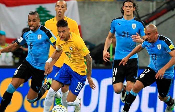 Brasil vs Uruguay (Foto: EFE)