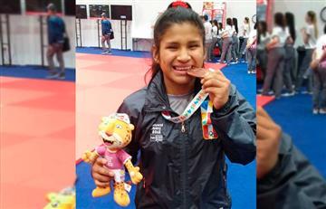 Noemí Huayhuameza consiguió la primera medalla para Perú en los Juegos Olímpicos de la Juventud