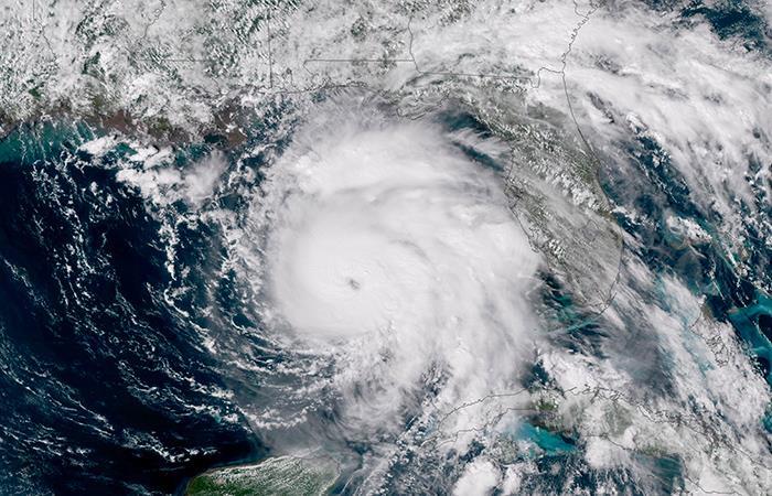 Huracán Michael ya es de categoría 4 y pone en alerta a Florida. Foto: EFE