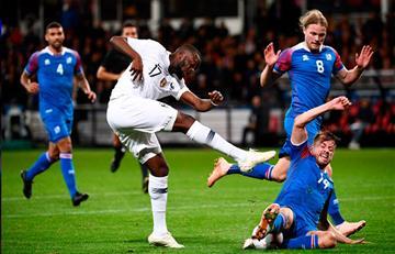 Francia empató con lo justo 2-2 ante Islandia