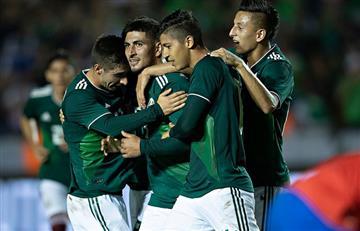 México venció a Costa Rica en un emocionante juego
