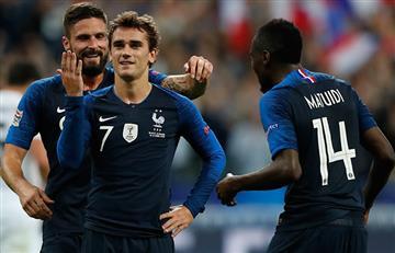 Francia venció a Alemania por la Liga de las Naciones