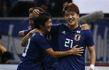 Uruguay cayó ante Japón en partido amistoso internacional