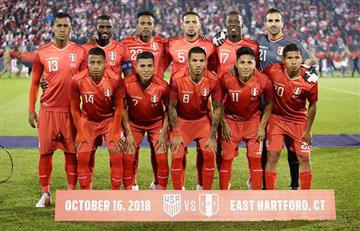 Esta es la nueva posición de Perú en el ranking FIFA