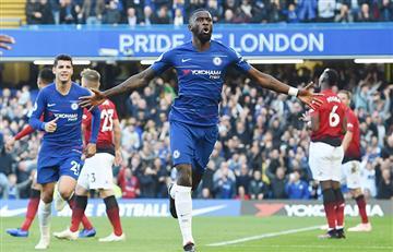 Chelsea y M. United igualaron en un partidazo