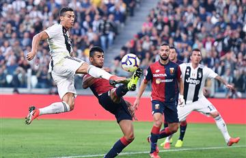 Juventus no pudo ante el Genoa